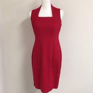 Beautiful Talbots Red Dress